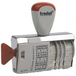 Trodat Dial-A-Phrase Dater English