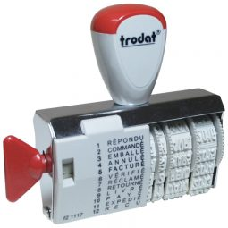 Trodat Dial-A-Phrase Dater French