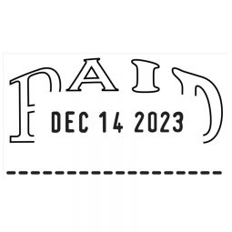 Trodat 2210 Dater Paid