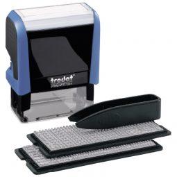 Trodat Typo Printy Self-Inking Custom Printing Set 4-Line
