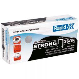 """Rapid Heavy Duty Standard Staples 66/8 5/16"""""""