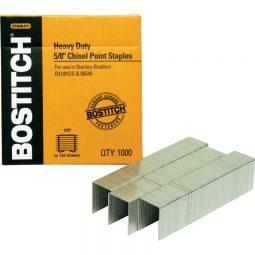 """Bostitch Heavy Duty Staples 5/8"""" Box of 1000"""