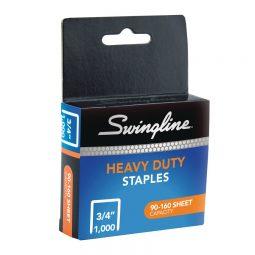 """Swingline Sf13 Heavy Duty Staples 3/4"""" Box of 1000"""