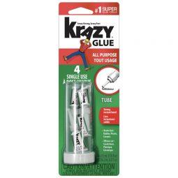 Instant Krazy Glue Single Use Pkg of 4