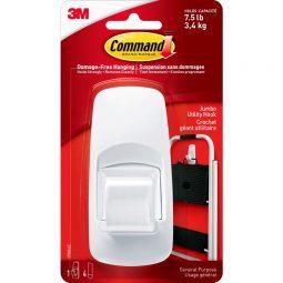 Command™ Jumbo Utility Hooks