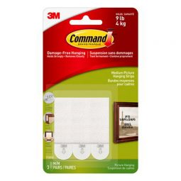Command Medium Picture Hanging Strips 3 Lb