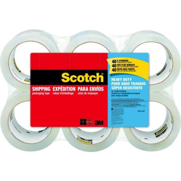 Scotch® Heavy Duty Shipping Packaging Tape