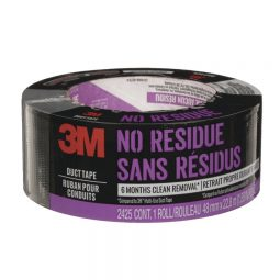 3M™ No Residue Duct Tape. Black