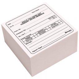 "Blueline Self-Adhesive Telephone Message Cube 4"" X 4"" X 2"" 512 Sheets Bilingual"