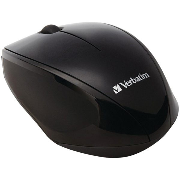 Verbatim Multi-Trac Led Optical Mouse Black