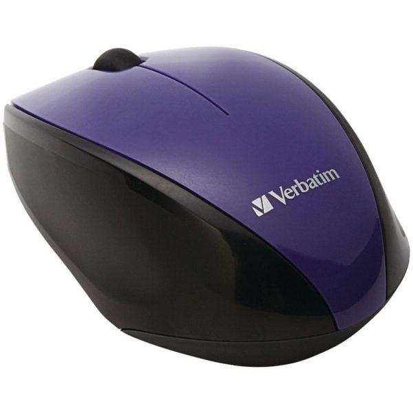 Verbatim Multi-Trac Led Optical Mouse Purple