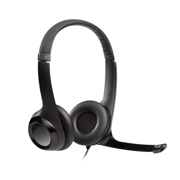 Logitech® Clearchat Comfort USB Headset With Microphone H390
