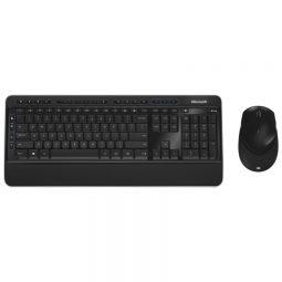 Microsoft Wireless 3050 Keyboard/ Bluetrack Mouse French