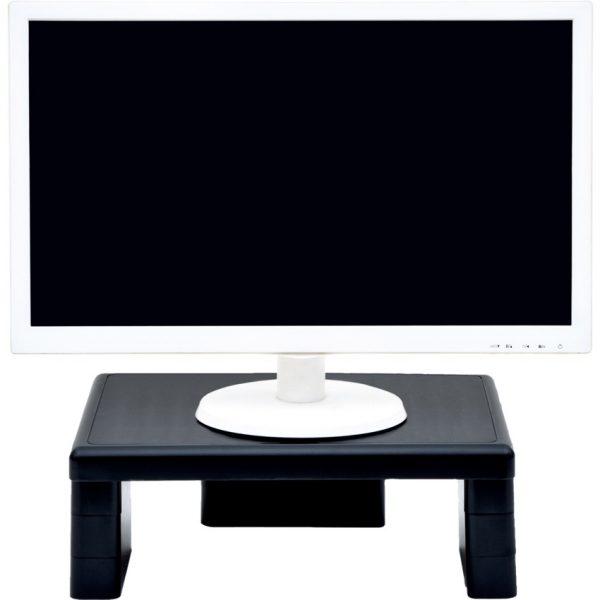DAC Adjustable Monitor Riser Black