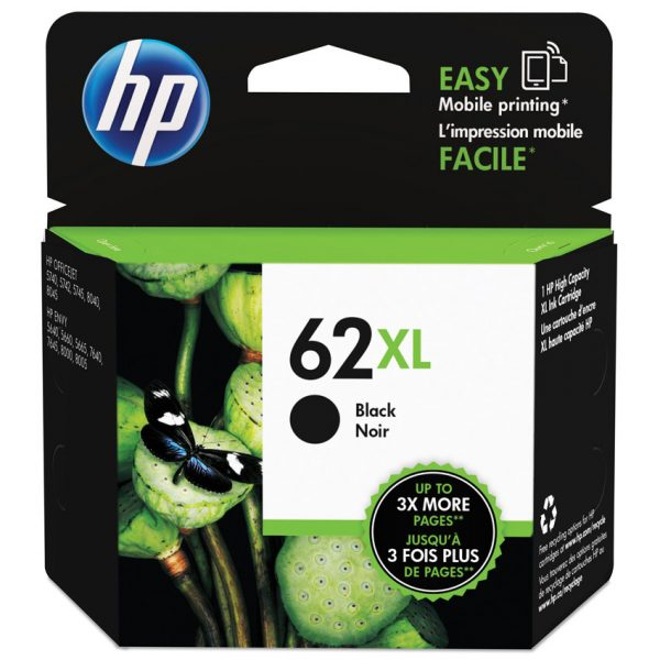 HP Inkjet Cartridge 62XL