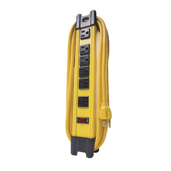Woods 6-Outlet Electronics Surge Protector 10' long cord