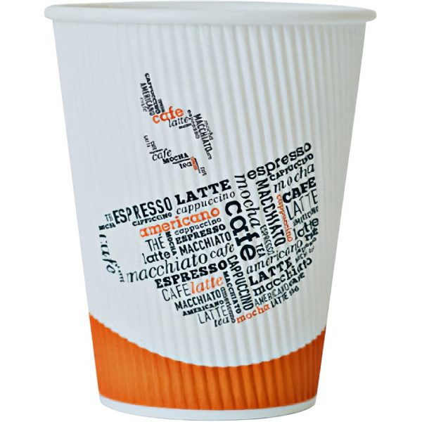 Ripple cups for hot drinks