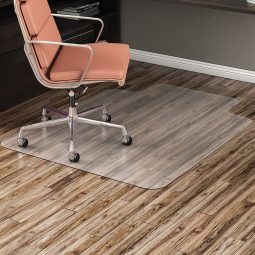 Supermat highest quality chairmats no-studded 36 x 48 lipped