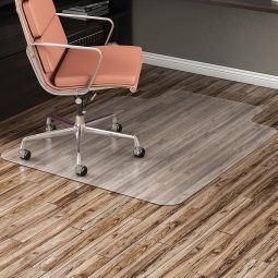 Supermat highest quality chairmats no-studded 45 x 53 lipped