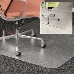 Duomat Chairmat 45x53 with lip