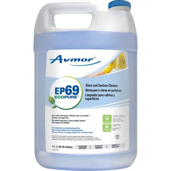 Avmor® EcoPure™ EP69™ Glass and Surface Cleaner 4L