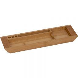 Merangue Bamboo Desktop Tray