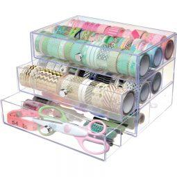 Deflecto® Stackable Storage Organizer