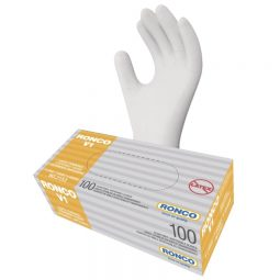 RONCO V1 Disposable Vinyl Gloves. X-Large.