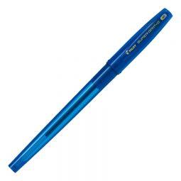Pilot® Super Grip G Stick Pen. Medium Point. Blue. 12/box
